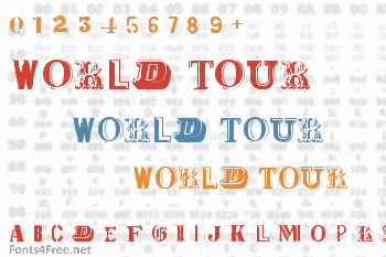 World Tour Font