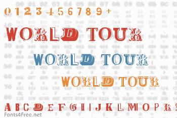 World Tour Font