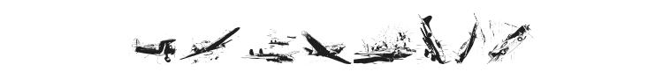 World War II Warplanes 2 Font