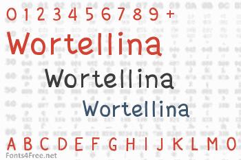 Wortellina Font