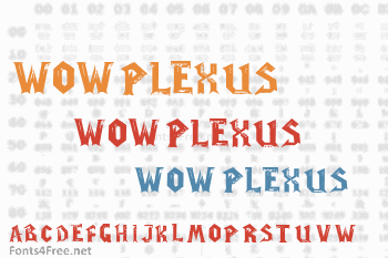 WoW Plexus Font