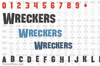 Wreckers Font