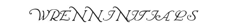 Wrenn Initials Font