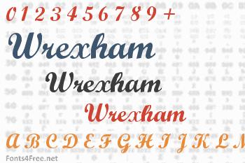 Wrexham Font