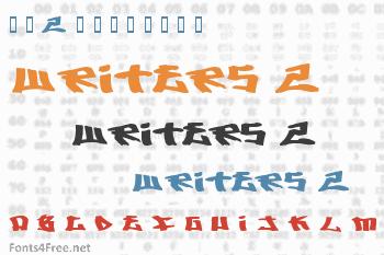 Writers 2 Font
