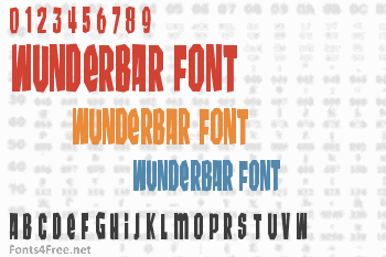 Wunderbar Font