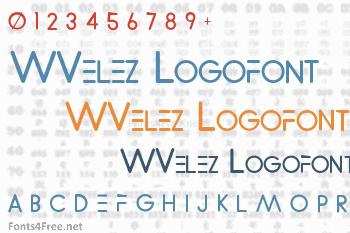 WVelez Logofont Font