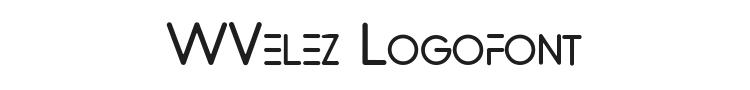 WVelez Logofont Font Preview
