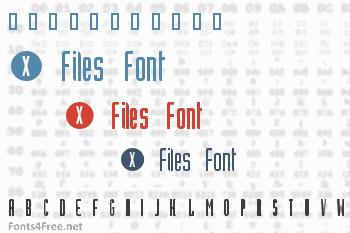 X Files Font