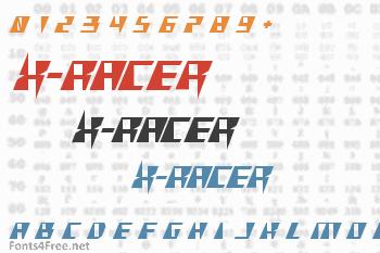 X-Racer Font