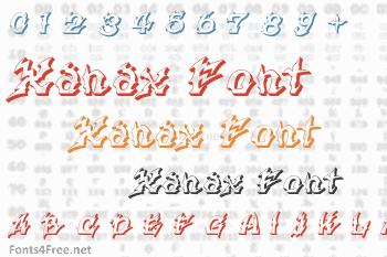 Xanax Font