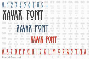 Xayax Font