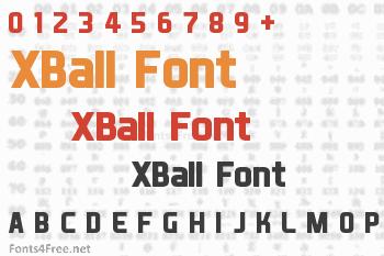 XBall Font