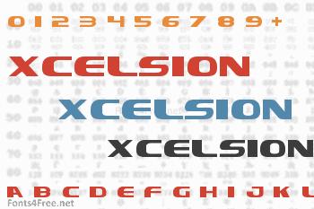 Xcelsion Font