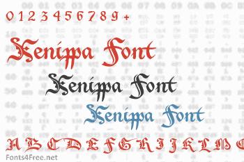 Xenippa Font