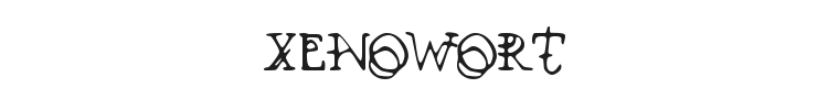 Xenowort Font Preview