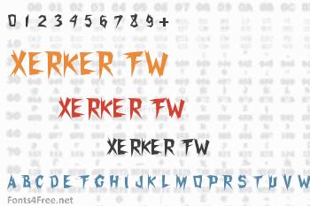 Xerker FW Font