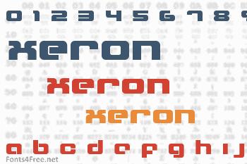 Xeron Font