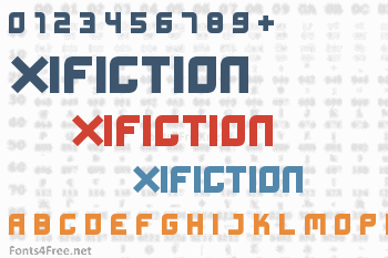 Xifiction Font