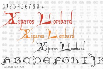 Xiparos Lombard Font