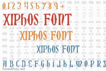 Xiphos Font