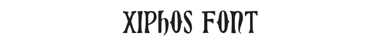 Xiphos Font Preview