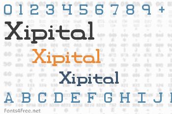Xipital Font