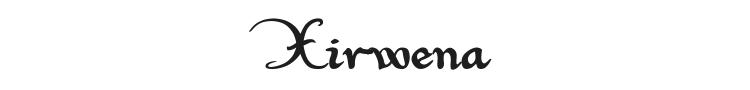 Xirwena Font Preview