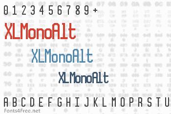 XLMonoAlt Font