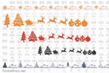 Xmas TFB Christmas Font