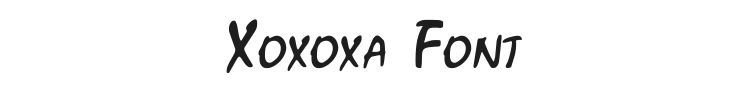 Xoxoxa Font Preview