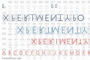 XperimentypoThree Font