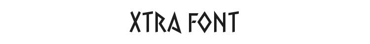 Xtra Font