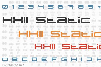 XXII Static Font