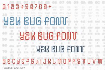 Y2K Bug Font