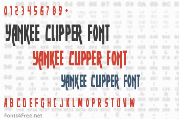 Yankee Clipper Font