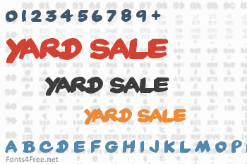 Yard Sale Font