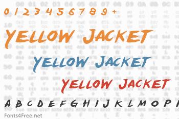 Yellow Jacket Font