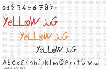 Yellow Jug Font