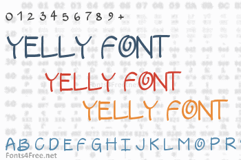 Yelly Font
