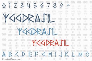 Yggdrasil Font