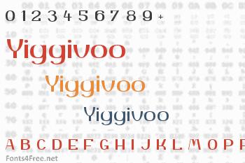 Yiggivoo Font