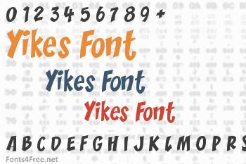 Yikes Font