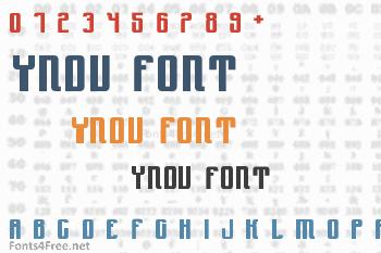 Yndu Font