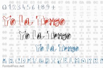 Yo La Tengo Font