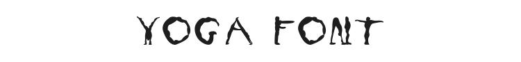 Yoga Font