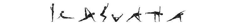 Yogafont Font Preview