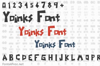 Yoinks Font