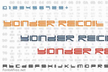 Yonder Recoil Font