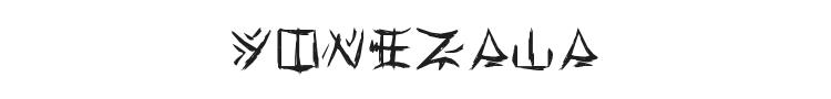 Yonezawa Font Preview